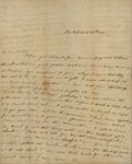 Julia Ursin Niemcewicz Kean to John Kean, March 26, 1834