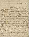 Sarah Sabina Baker to John Kean, May 22, 1834