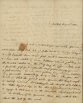 Julia Ursin Niemcewicz Kean to John Kean, June 3, 1834 by Julia Ursin Niemcewicz Kean