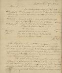 Johnson & Kent to Looe Baker, June 17, 1834