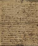 John Kean to Reverend James Carmakau, July 1, 1834