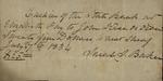 Sarah Sabina Baker to John Kean, July 7, 1834 by Sarah Sabina Baker