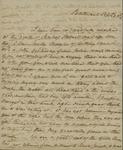 Sarah Sabina Kean to John Kean, September 25, 1830
