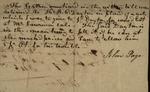 Receipt from John Page to Thomas B.C. Dayton, January 3, 1834 by John Page