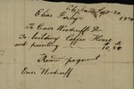 Receipt from Elias Darby to Enos Woodruff,  September 20, 1834