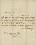 Henry I. Williams to Benjamin Williamson, June 4, 1847