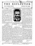 The Reflector, Vol. 1, No. 2, November, 1927