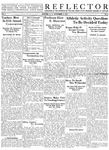 The Reflector, Vol. 4, No. 2, November 9, 1939