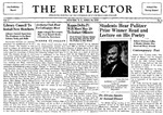 The Reflector, Vol. 3, No. 6, April 26, 1939 by New Jersey State Normal School at Newark