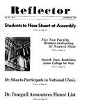 The Reflector, Vol. 12, No. 1, October 30, 1946