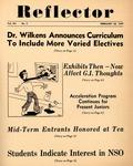 The Reflector, Vol. 12, No. 5, February 26, 1947