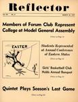 The Reflector, Vol. 12, No. 6, March 26, 1947