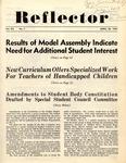 The Reflector, Vol. 12, No. 7, April 30, 1947