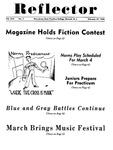 The Reflector, Vol. 13, No. 5, February 27, 1948