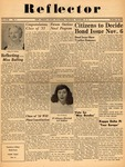 The Reflector, Vol. 17, No. 3, October 26, 1951 by New Jersey State Teachers College at Newark
