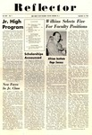 The Reflector, Vol. 25, No. 1, September 16, 1954 by New Jersey State Teachers College at Newark