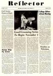 The Reflector, Vol. 25, No. 3, October 27, 1954