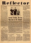 The Reflector, Vol. 1, No. 8, November 10, 1958