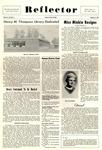 The Reflector, Vol. 2, No. 2, October 2, 1959